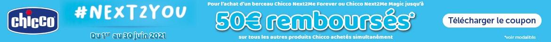 ODR : jusqu'à 50€ remboursés pour l'achat d'un berceau cododo Next2Me Magic