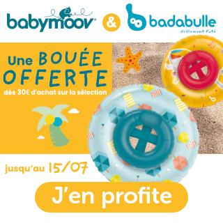 Bouee offerte babymoov badabulle