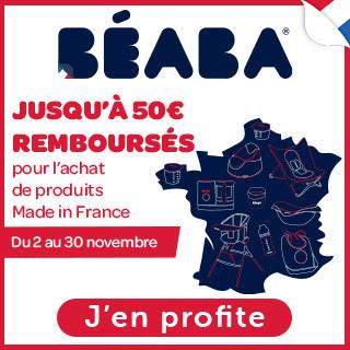 Béaba: Jusqu'à 50€ remboursés pour l'achat de produits Made in France