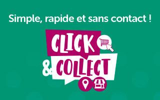 Click & Collect : simple, rapide et sans contact