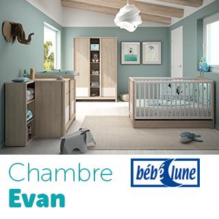 Chambre Bébé Lune Evan