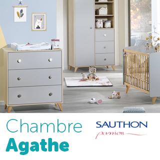 Chambre Sauthon Passion Agathe