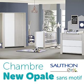 Chambre Sauthon Easy New opale sans motif
