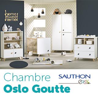 Chambre Sauthon Easy Oslo Goutte