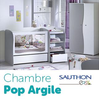 Chambre Sauthon Easy  Pop Argile