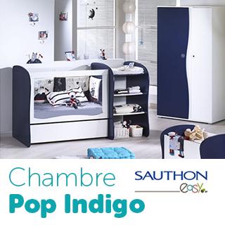 Chambre Sauthon Easy Pop Indigo