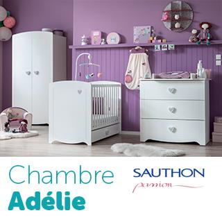Chambre Sauthon Passion Adélie
