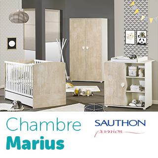 Chambre Sauthon Passion Marius