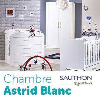Chambre Sauthon Signature Astride Blanc