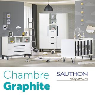 Chambre Graphite de Sauthon