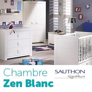 Chambre Sauthon Signature Zen Blanc