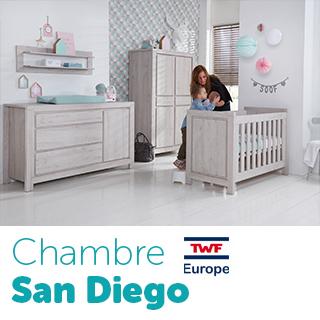 Chambre TWF San Diego