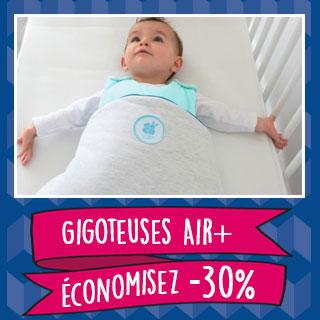 Thème de lit Gigoteuses Airplus