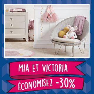 Thème de lit Nookie's Mia & Victoria