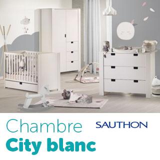 Chambre Sauthon City Gris