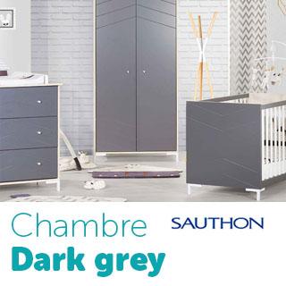 Chambre Dark grey Sauthon