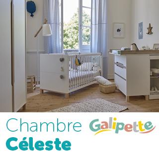 Chambre Galipette Céleste