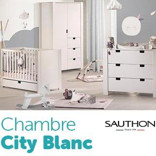 Chambre City Blanc de Sauthon