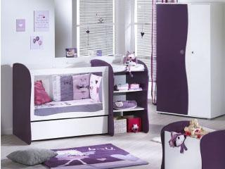 Chambre Sauthon Easy Pop Violette