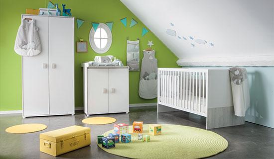 Meubles lit commode armoire bébé