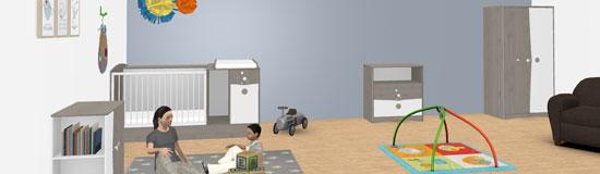 Simulateur 3D Chambre bébé