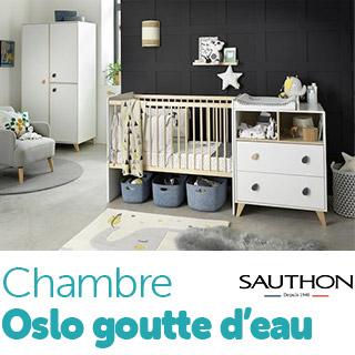 Chambre Sauthon Easy Oslo Goutte d'eau