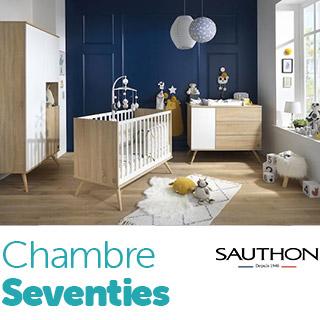Chambre Seventies de Sauthon
