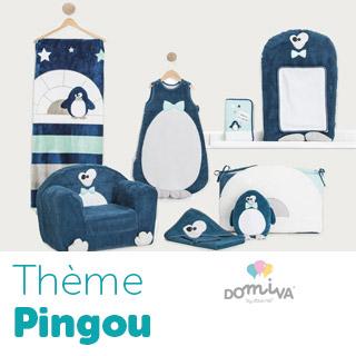 Thème de lit Domiva Pingou