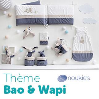 Thème de lit Noukie's Bao & Wapi