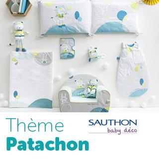 Thème de lit Sauthon Baby Déco Patachon