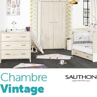Chambre Vintage Sauthon
