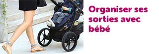 organiser sortie avec bébé