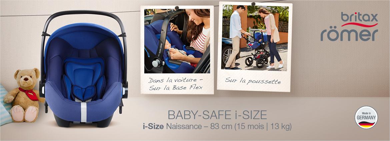 Siège auto Baby Safe iSize