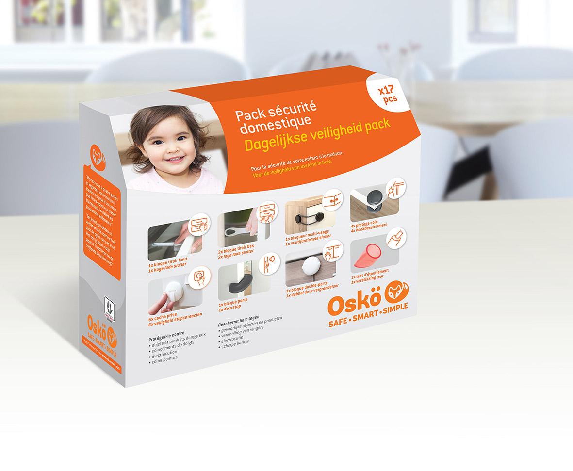 Pack sécurité Osko