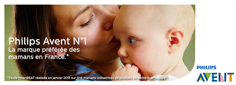 Philips Avent marque préférées des mamans