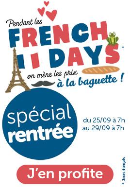 Les french days adbb: jusqu'à 70% de réduction sur une sélection de produits