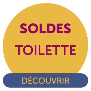 Soldes Toilette