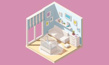 Simulateur 3D chambre de bébé